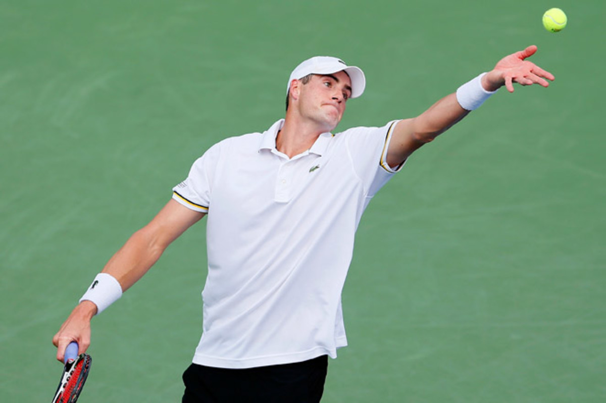 John Isner's win over James Blake extended his ATP Tour-leading tiebreaker record to 23-6 this season.