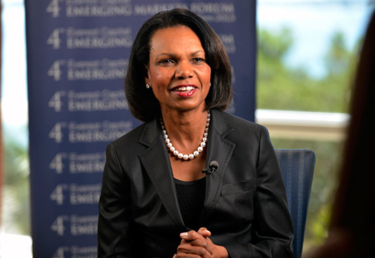 Former Secretary of State Condoleezza Rice is one of 13 members on the playoff selection committee.