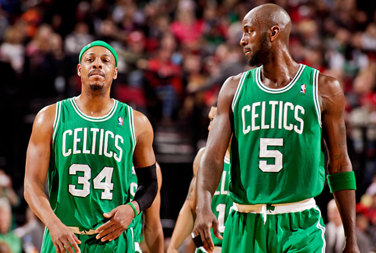 Paul Pierce and Kevin Garnett led the Celtics to an NBA title and two Finals appearances.