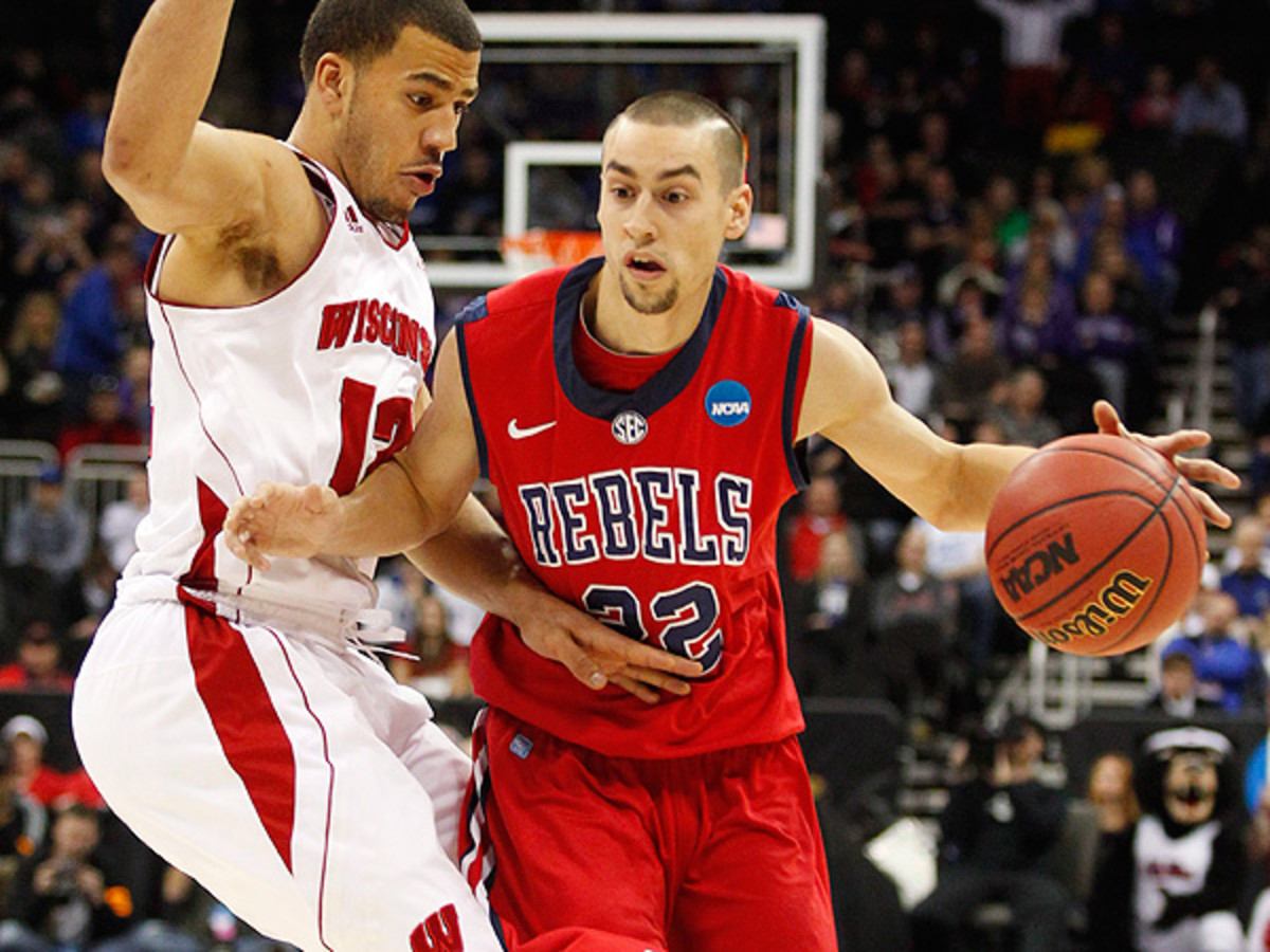Marshall Henderson averaged over 20 points a game last season for the Rebels. (Ed Zurga/Getty Images)
