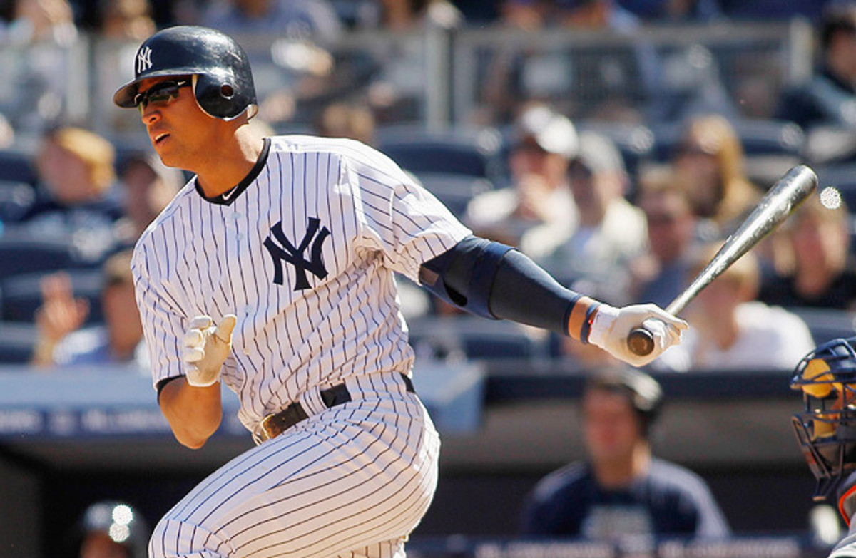 Alex Rodriguez met with MLB investigators before a rained-out rehab game for Class A Tampa Bay.
