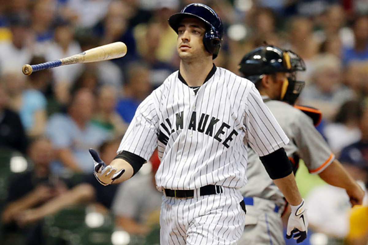 Braun admitted to using an unspecified cream and lozenge during his 2011 MVP season. (Morry Gash/AP)