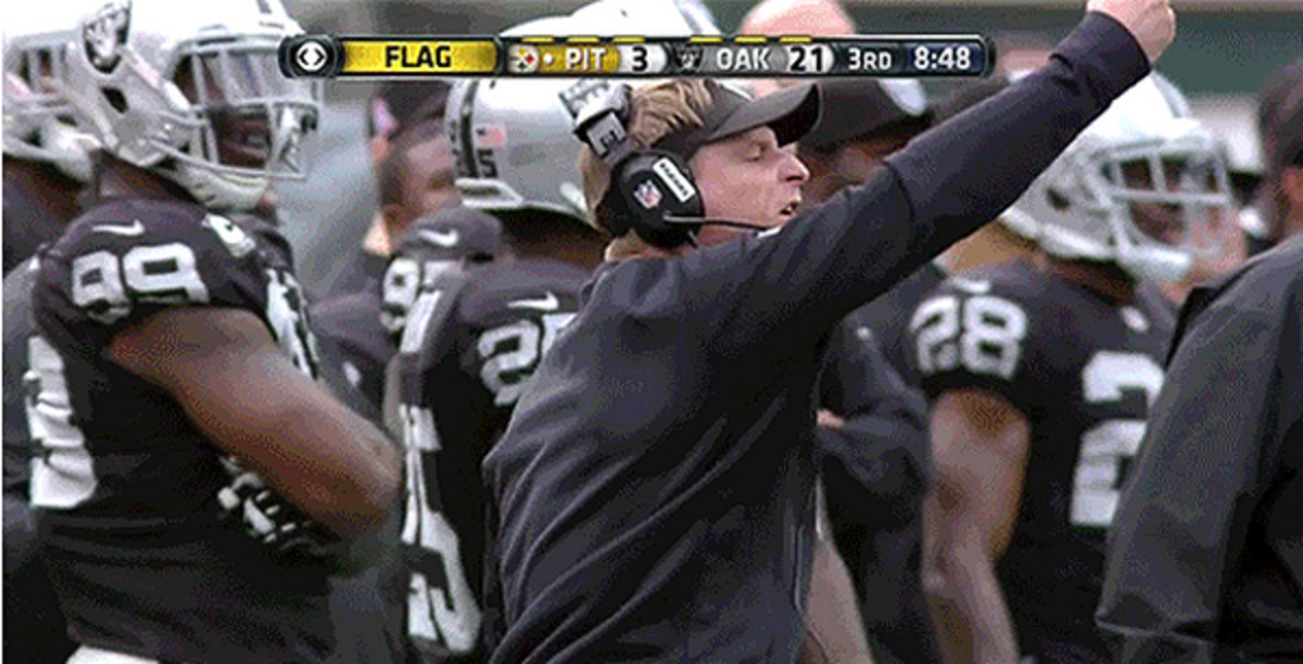 Jason Tarver was unimpressed with the officiating on Sunday.