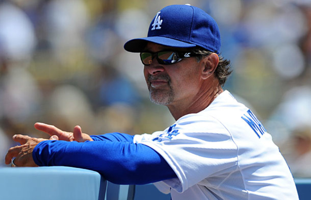 Don Mattingly, Dodgers