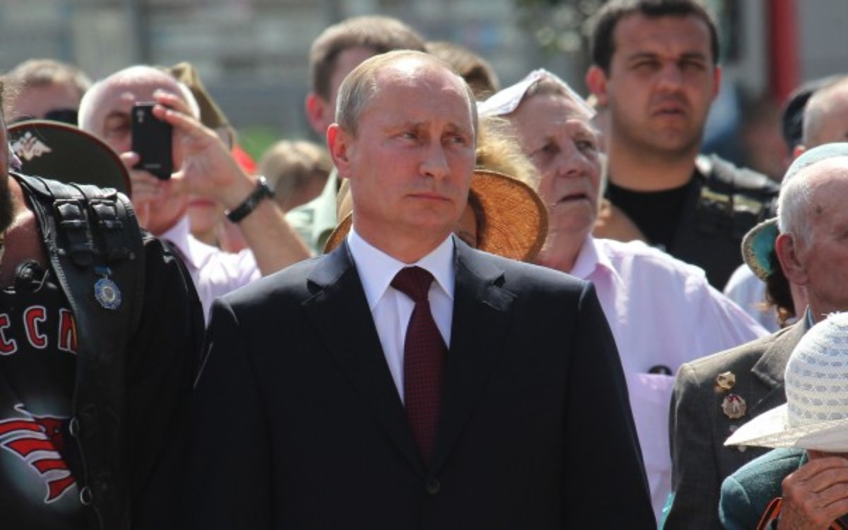 Russian President Vladimir Putin banned demonstrations during the Winter Olympics. (Sasha Mordovets/Getty Images)