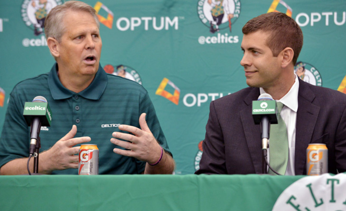Once traded by the Celtics, team president Danny Ainge is now the executive pulling the stringers.