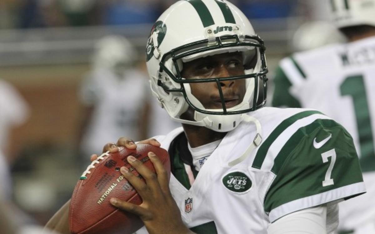 Geno Smith will start the Jets' next preseason game. (Al Pereira/Getty Images)