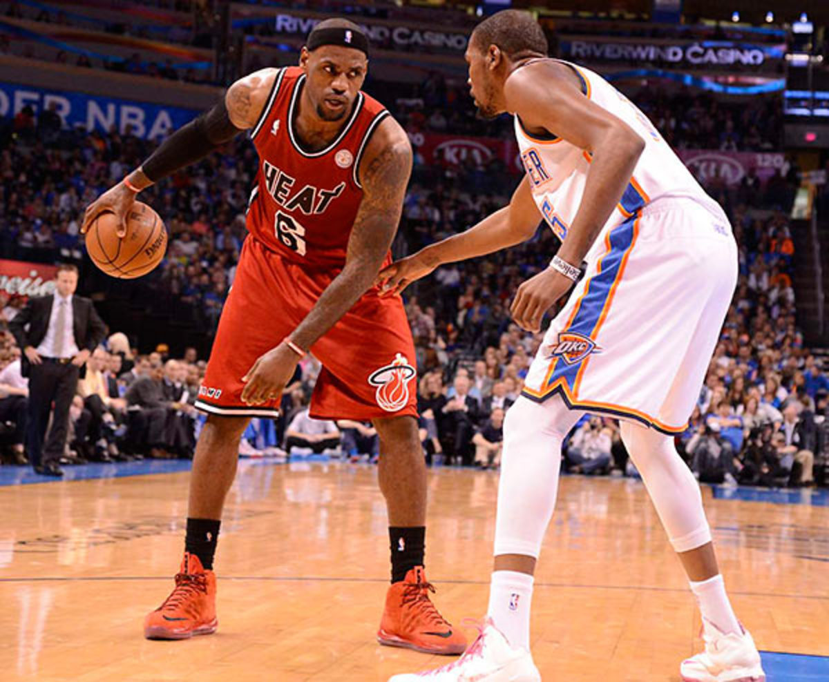 LeBron James vs. Kevin Durant