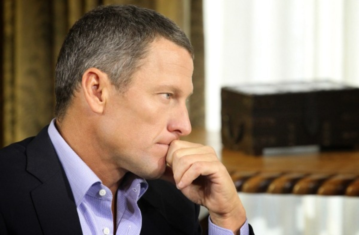 Lance Armstrong told Le Monde magazine. (Getty Images)