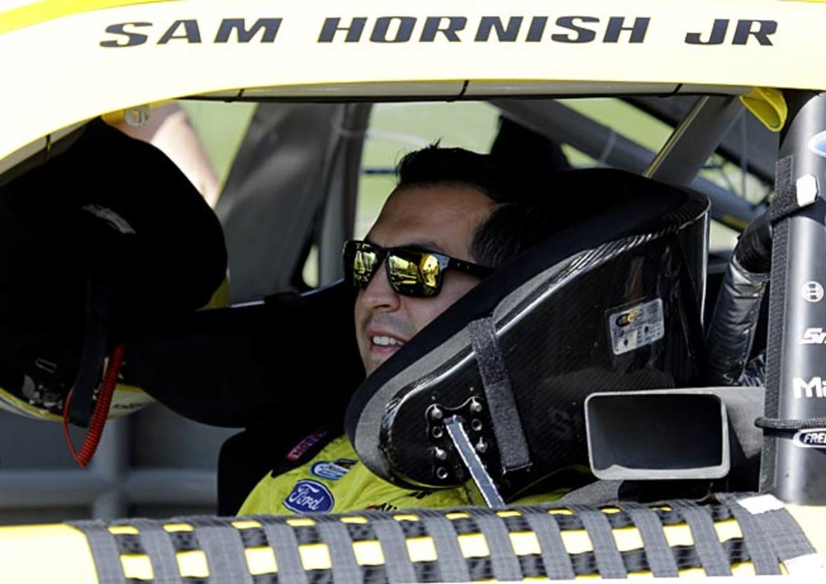 Sam Hornish Jr. is back at the site of his 2006 victory in the Indianapolis 500.