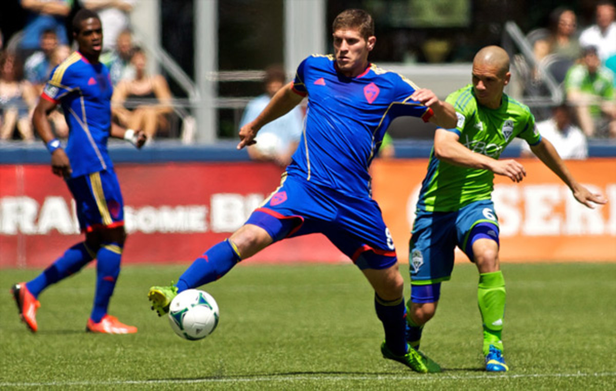 MLS Rookie of the Year Dillon Powers