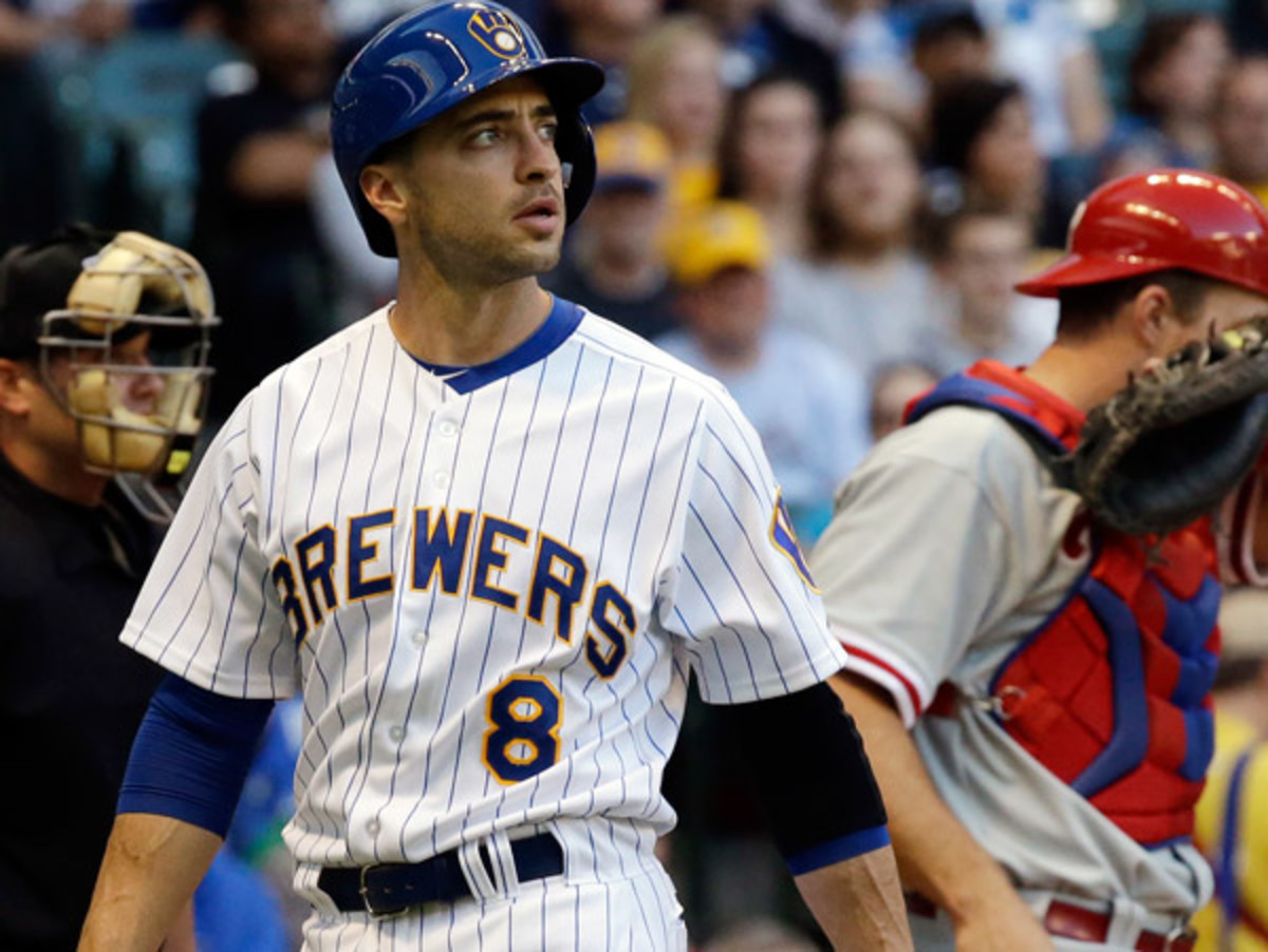 Ryan Braun is likely headed to the disabled list for the first time in his career. (Marc Serota/Getty Images)