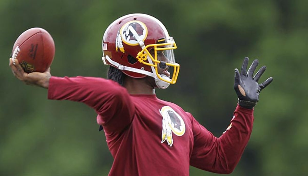 Robert Griffin is optimistic he'll be ready for the Redskins' season opener in September.
