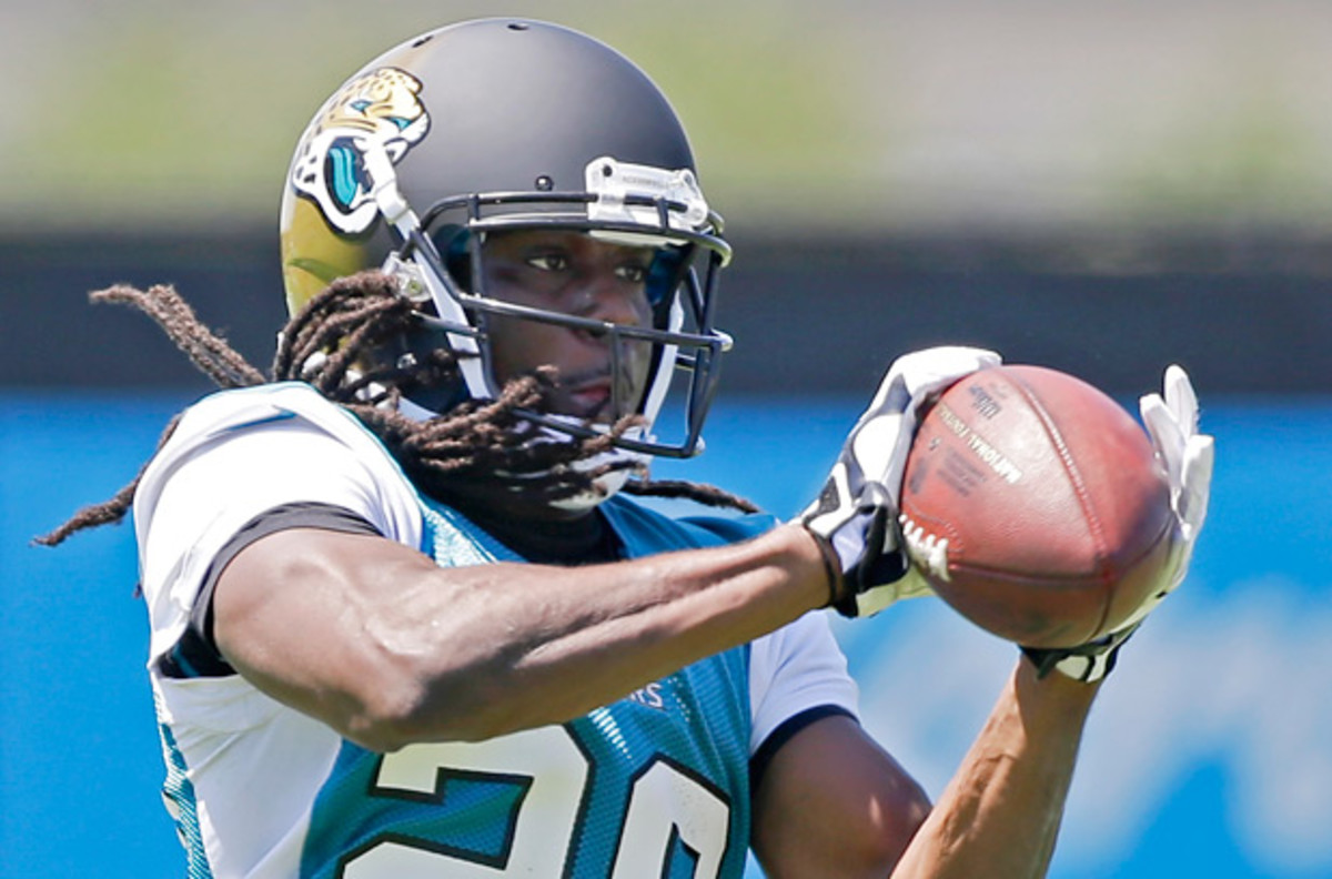Denard Robinson played quarterback at Michigan, but will be used creatively by the Jaguars. (John Raoux/AP)
