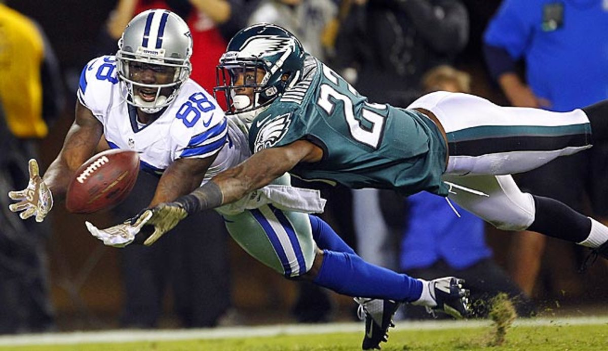 Dez Bryant has caught 27 TDs in three seasons with Dallas, including a career-high 12 last year.