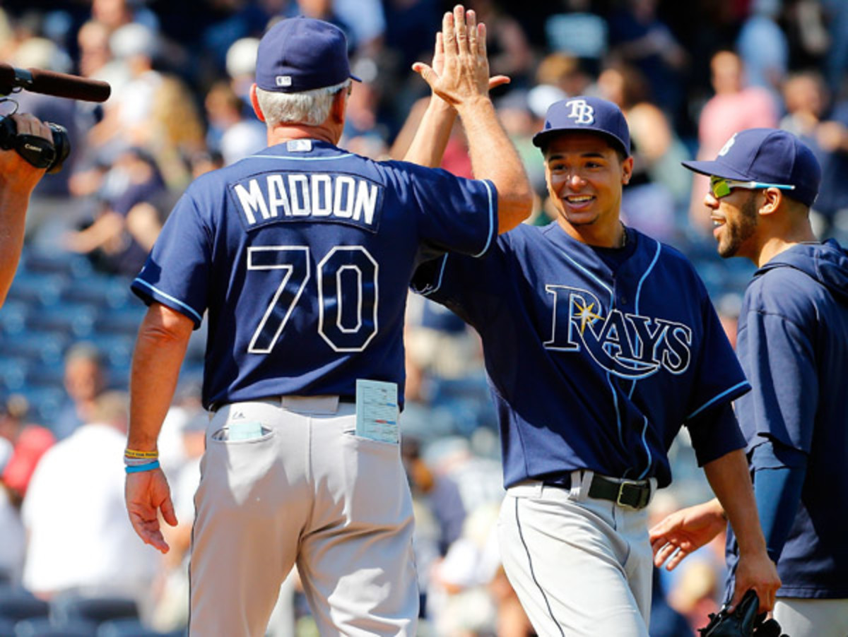Chris Archer earned his second shutout in his last three starts by beating the Yankees on Saturday. (Jim McIsaac/Getty Images)