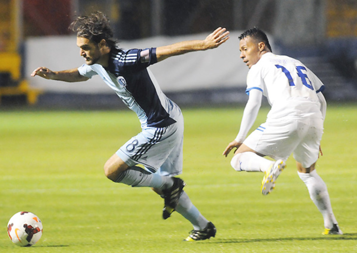 Even a bad trip to Honduras has shaken Sporting Kansas City midfielder Graham Zusi's hunger for CCL success.