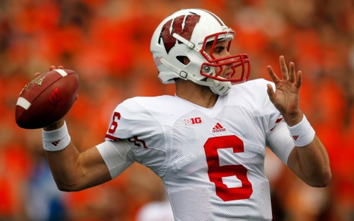 Former Wisconsin starting quarterback Danny O'Brien will reportedly leave the school. (Jonathan Ferrey/Getty Images)