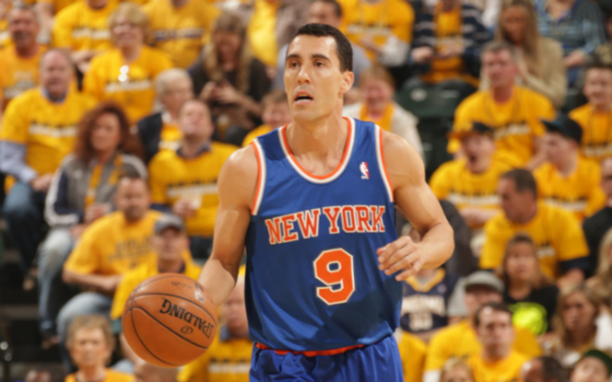 Knicks point guard Pablo Prigioni could leave the team and return to Spain. (Ron Hoskins/Getty Images)