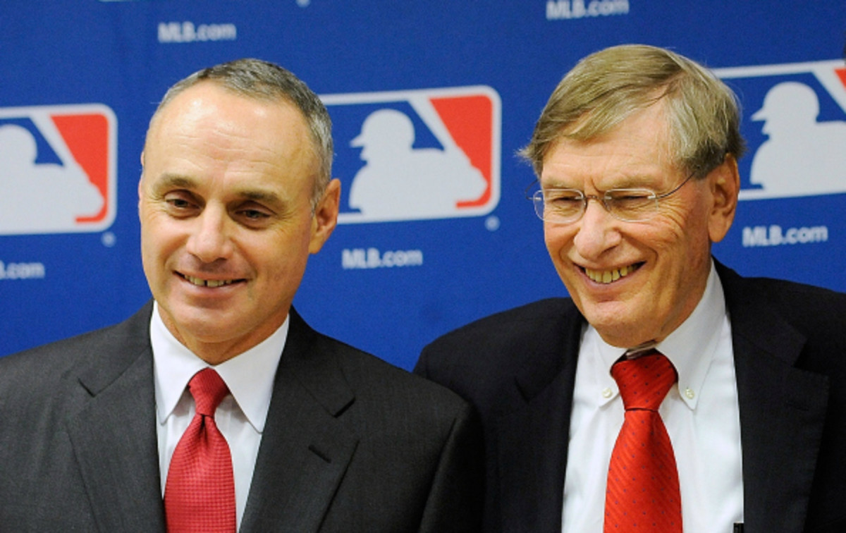 Rod Manfred was named the COO of Major League Baseball on Monday.