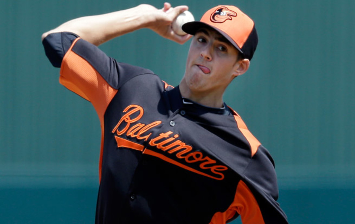 Kevin Gausman was the fourth overall pick of the 2012 draft, taken out of Louisiana State.
