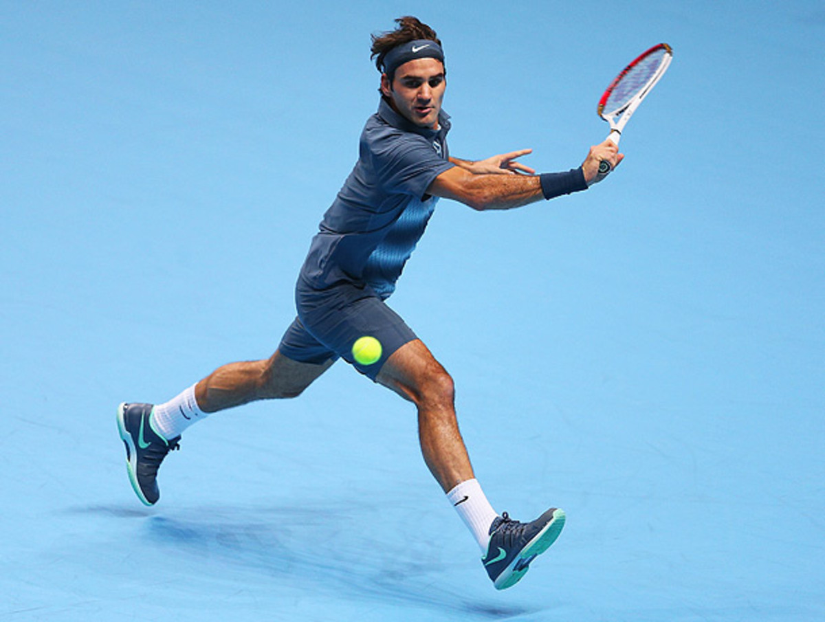 Roger Federer will try to improve on his 2013 season, during which he won only one title.(Clive Brunskill/Getty Images)