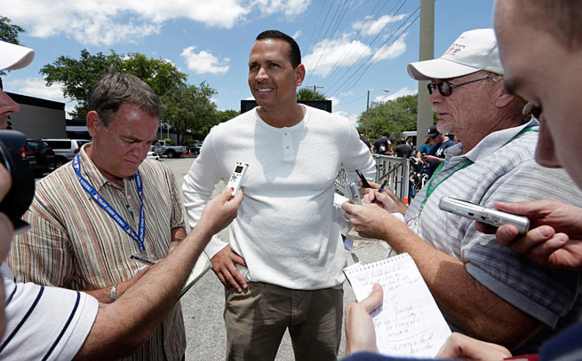 Alex Rodriguez is not expected to return until midseason after having surgery during the offseason.