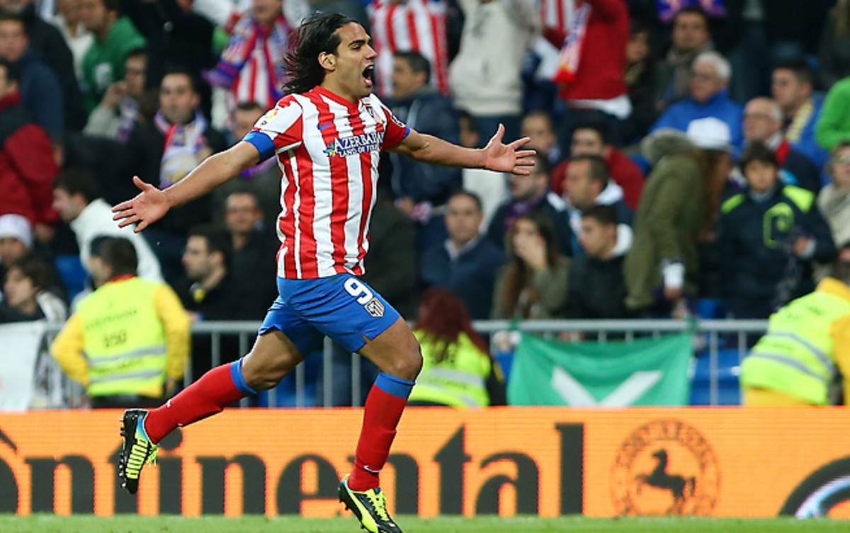 Radamel Falcao has been one of the world's top strikers and is commanding big offers from top clubs.