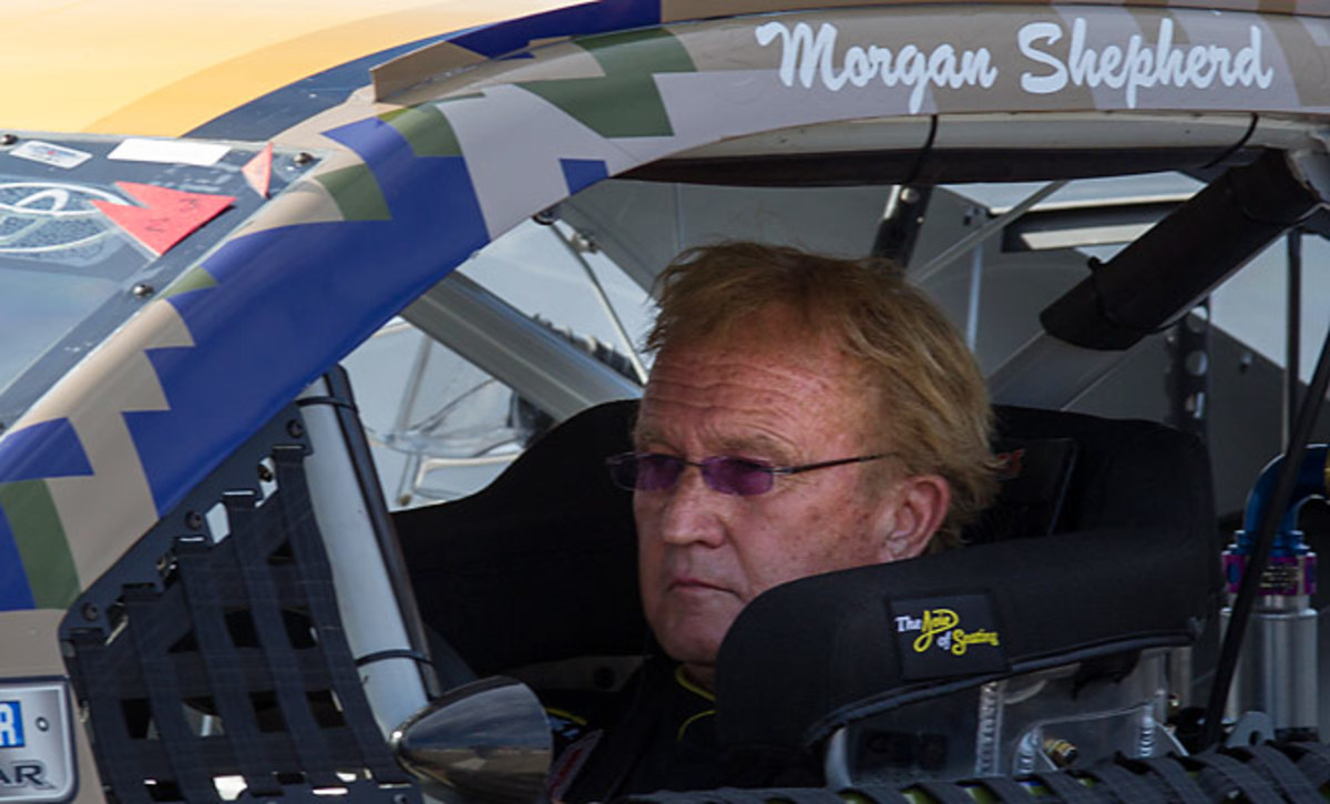 At the age of 71, Morgan Shepherd has become the oldest NASCAR driver to race in the Sprint Cup.