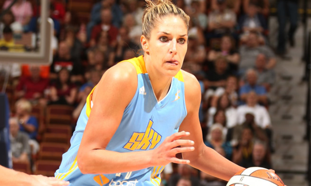 Chicago's Elena Delle Donne is the first rookie to lead the WNBA's All-Star voting.