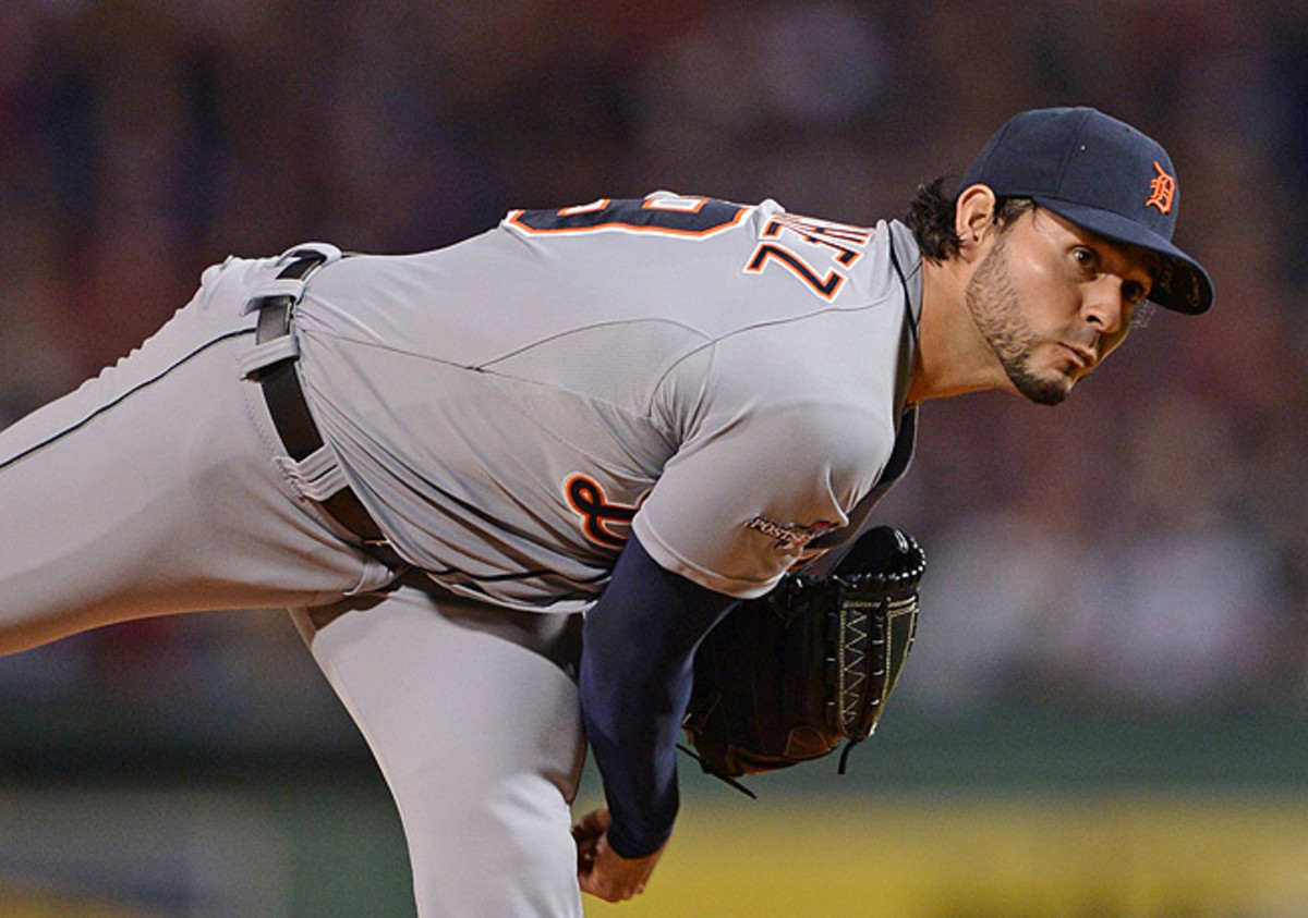 Only a high pitch count prevented Anibal Sanchez from extending his mastery of the Red Sox further.