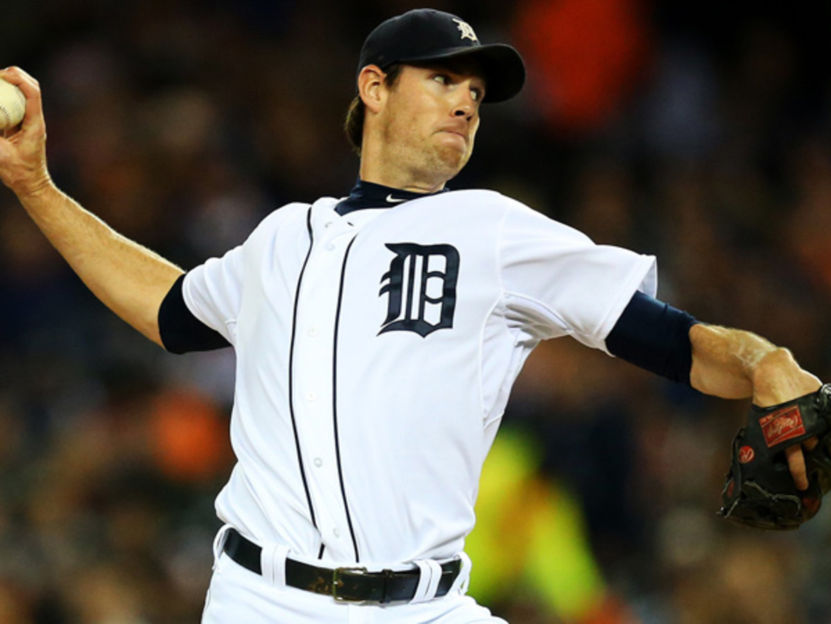 Doug Fister was sent to the Nationals for a trio of players by the Tigers. (Ronald Martinez/Getty Images)