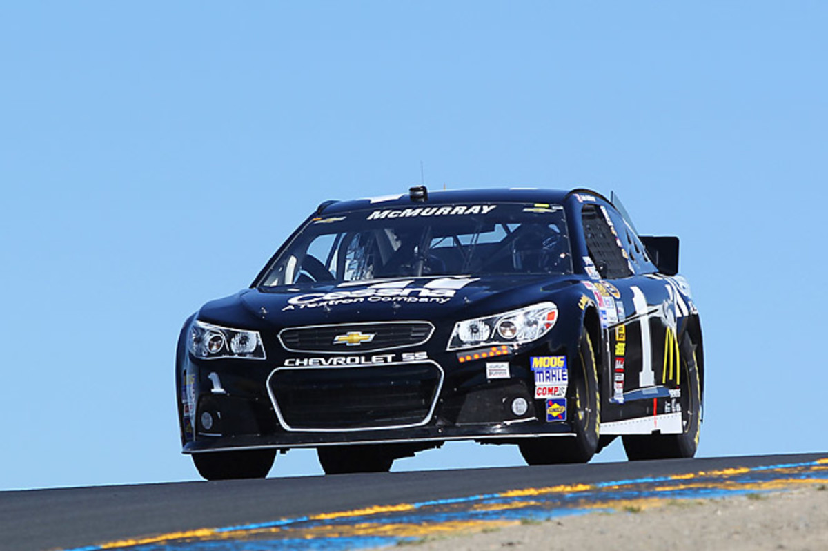 Jamie McMurray won his first Sprint Cup pole of the year, and the ninth of his career.