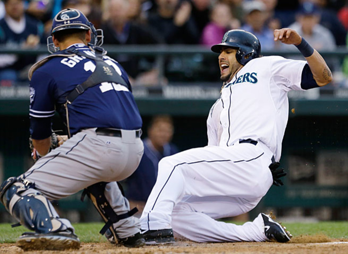 """The Padres and Mariners were paired up in an interleague """"rivalry"""" that doesn't make a lot of sense."""