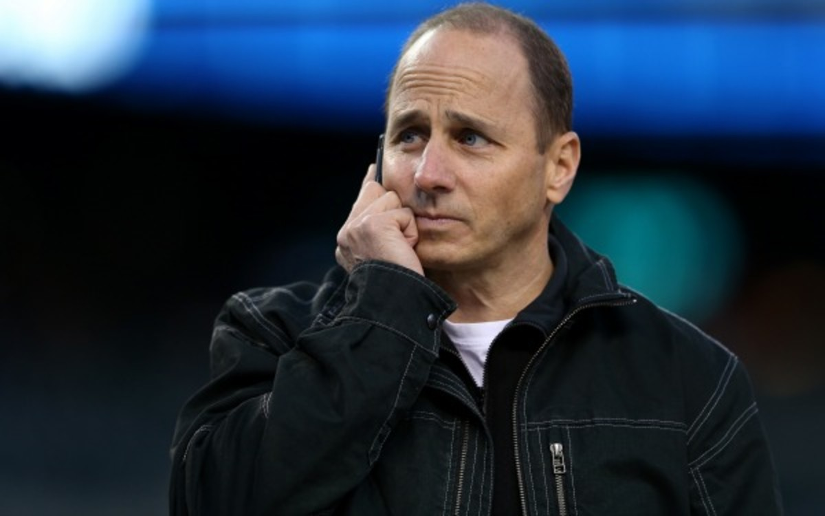 A former mistress of Yankees GM Brian Cashman says he knew about steroid use. (Leon Halip/Getty Images)