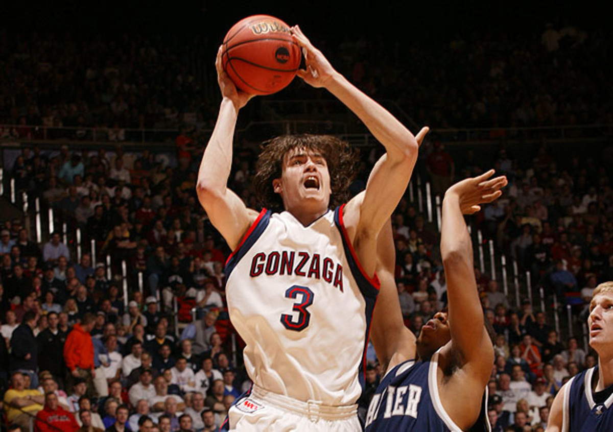 Morrison led the nation in scoring, averaging 28.1 points a game as a junior at Gonzaga. (John W. McDonough/SI)