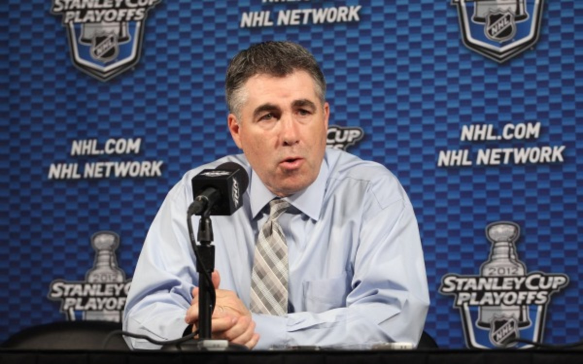 The Coyotes and coach Dave Tippett agreed to a contract extension. (Christian Petersen/Getty Images)