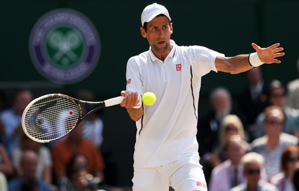 Novak Djokovic said changing his diet habits ultimately led to his success on the tennis court.