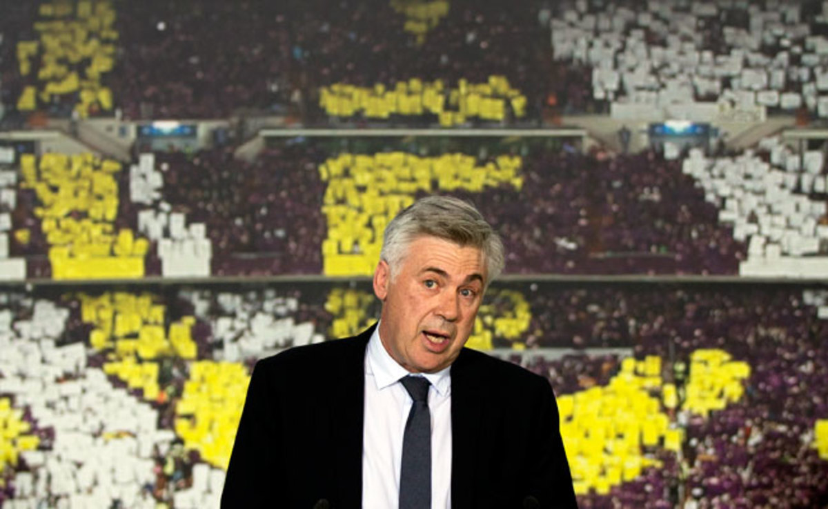 Real Madrid will be the seventh club that Carlo Ancelotti has coached since beginning at Serie B's Reggiana in 1995.