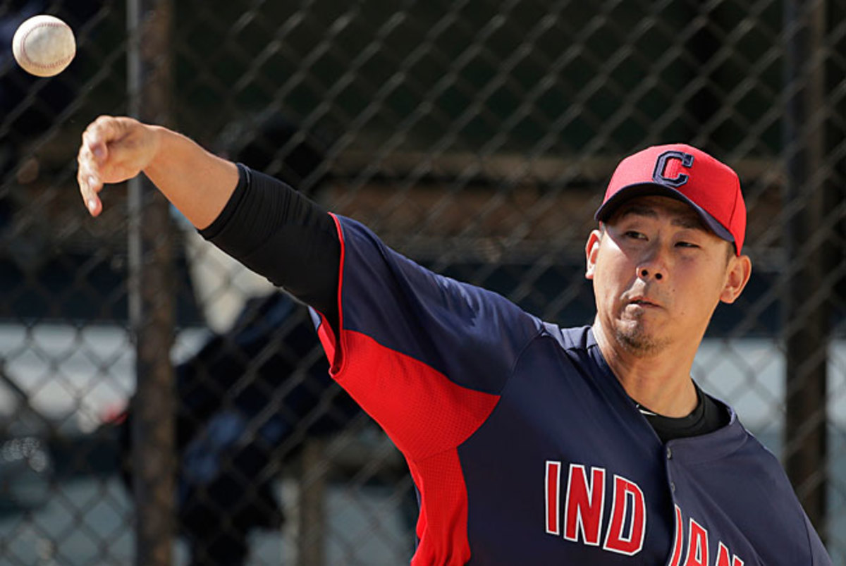Daisuke Matsuzaka was trying to make Cleveland's rotation after spending six years with the Red Sox.