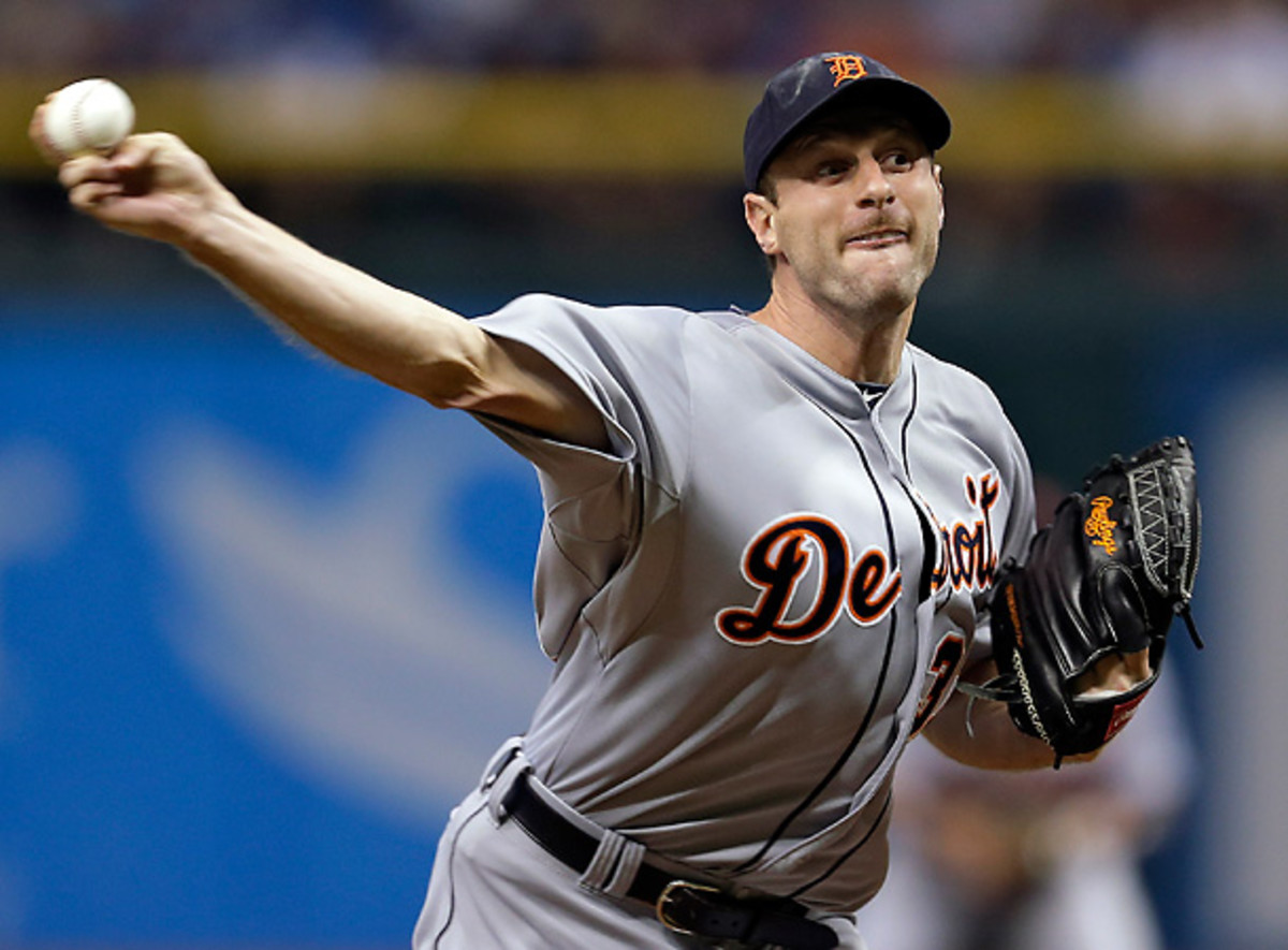 Max Scherzer became the first pitcher to start a season 12-0 since Roger Clemens in 1986. [AP]