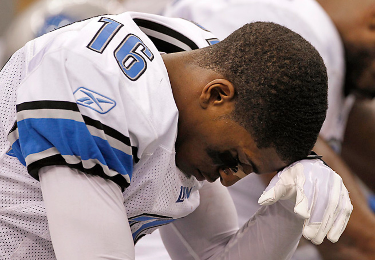 Titus Young faces 11 carious charges, but he's also had a number of on-field issues in his two NFL seasons.