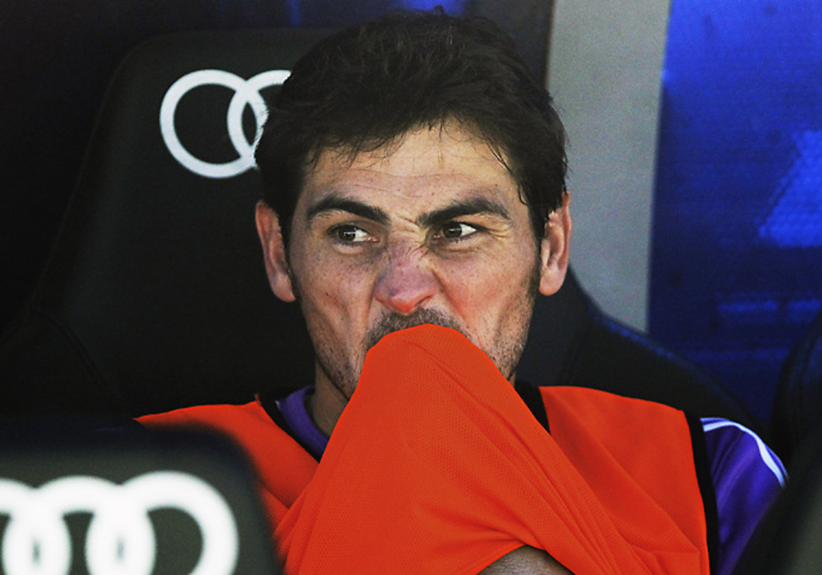 Iker Casillas did not start Real Madrid's La Liga opener to the surprise of many.