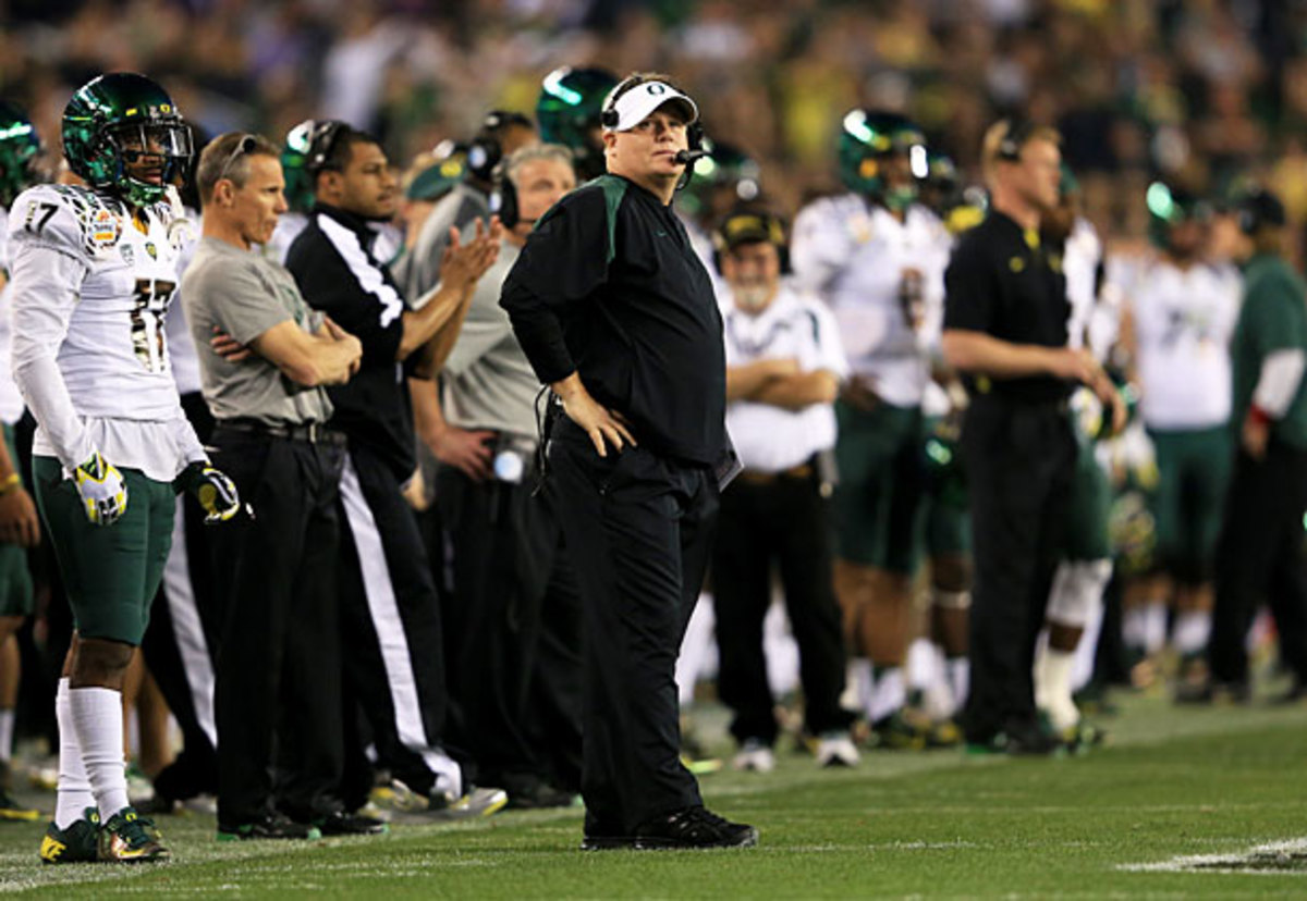 Oregon and the NCAA enforcement staff agree the Ducks committed 'major' violations. (Doug Pensinger/Getty Images)