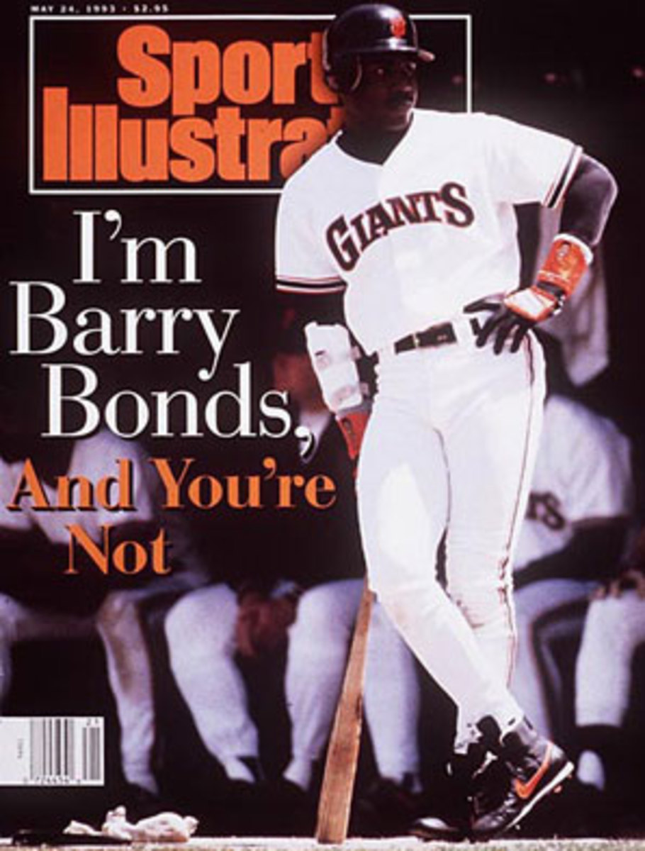 Barry Bonds was a gifted -- and controversial -- star long before he was connected to steroids. (Ronald C. Modra/SI)