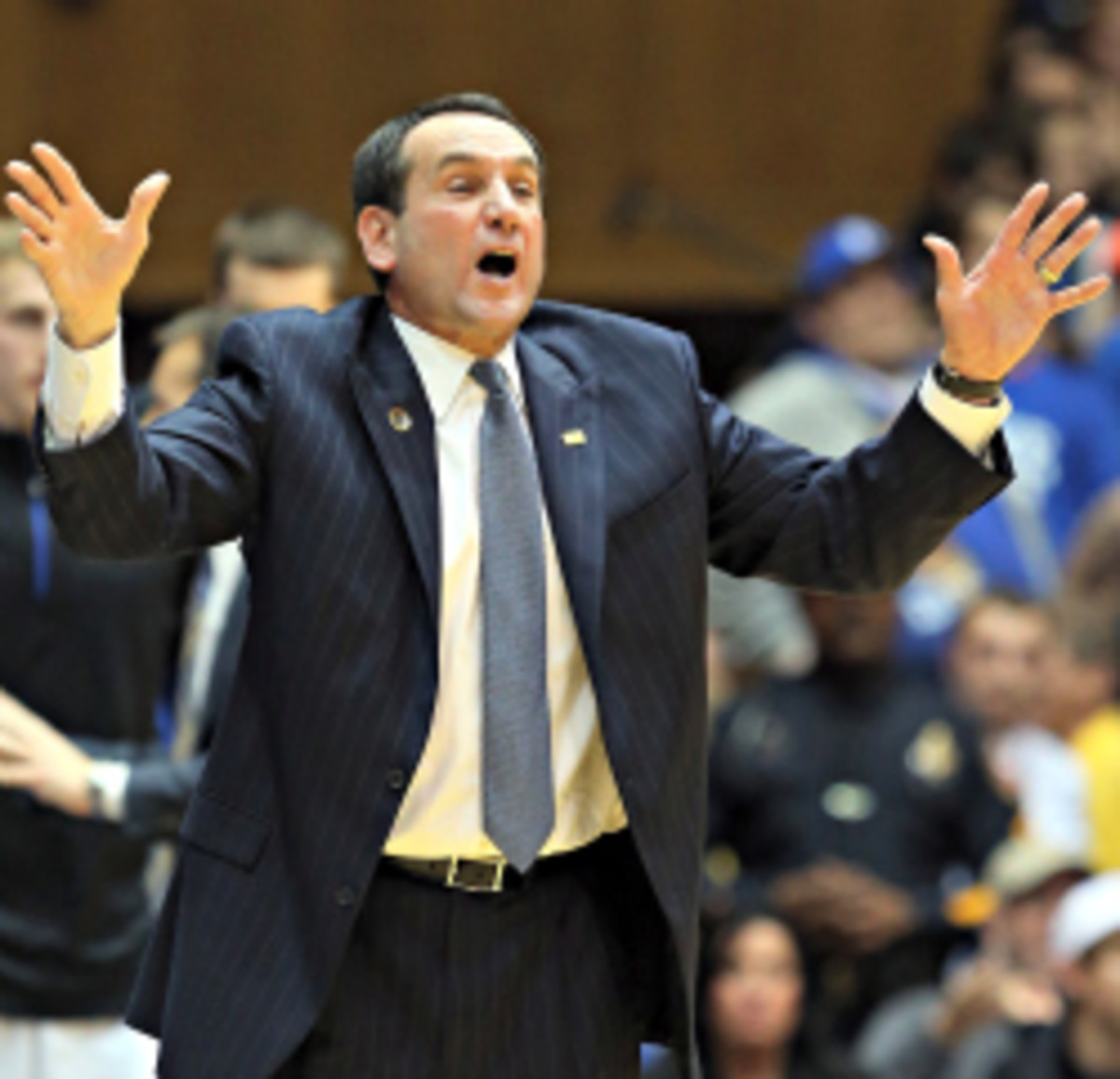 Mike Krzyzewski will not return to coach USA Basketball at the World Championship. A successor will likely be named this summer. (Streeter Lecka/Getty Images)