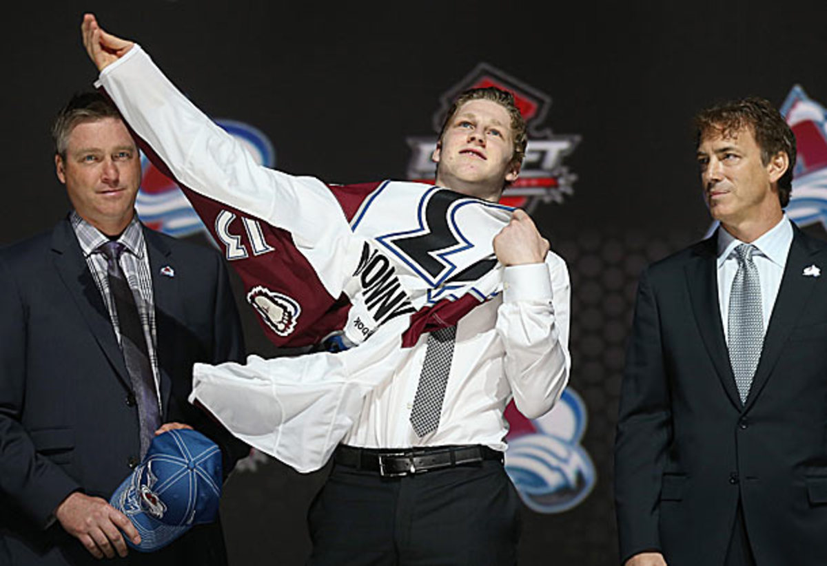 Patrick Roy, Nathan MacKinnon and Joe Sakic restored hope to the Colorado Avalanche in 2013.