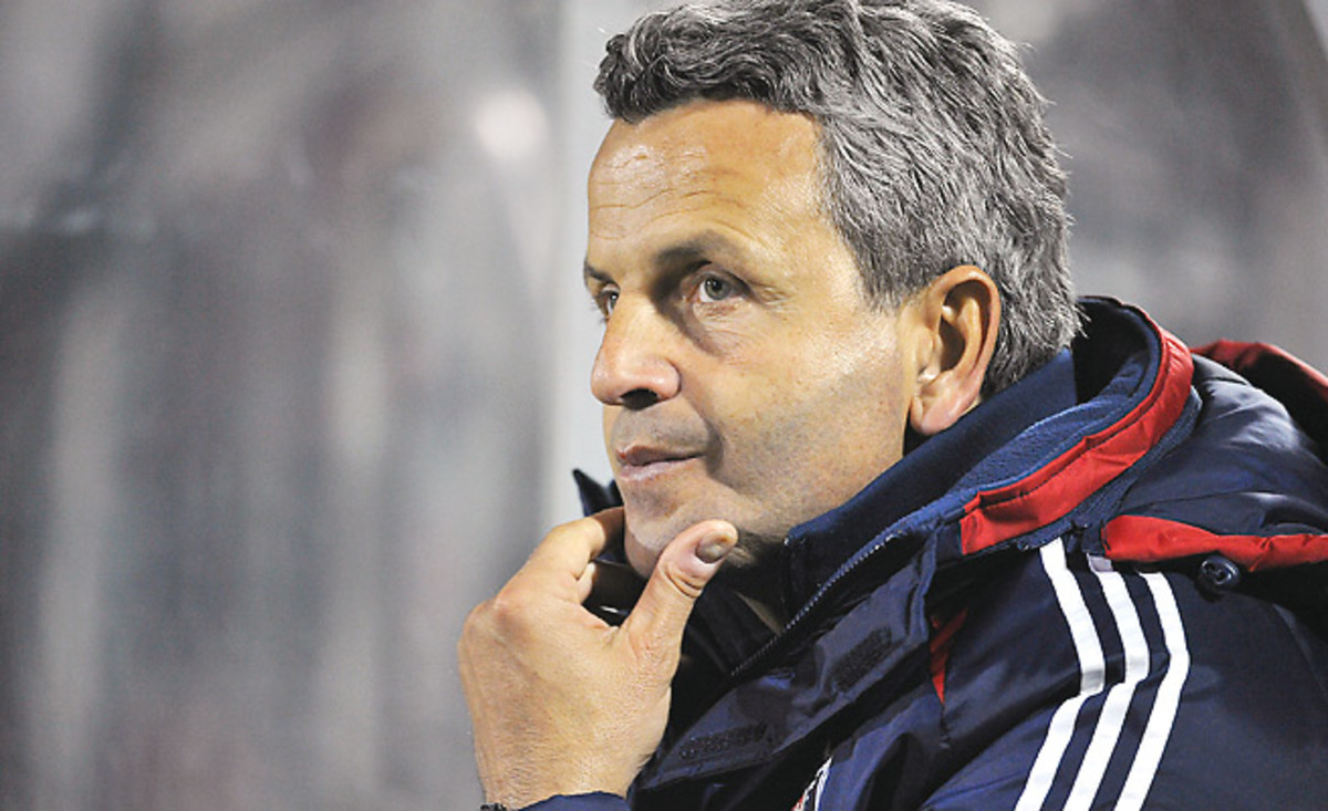 Frank Klopas took Chicago to the playoffs his second year as coach, but the team missed out this year.