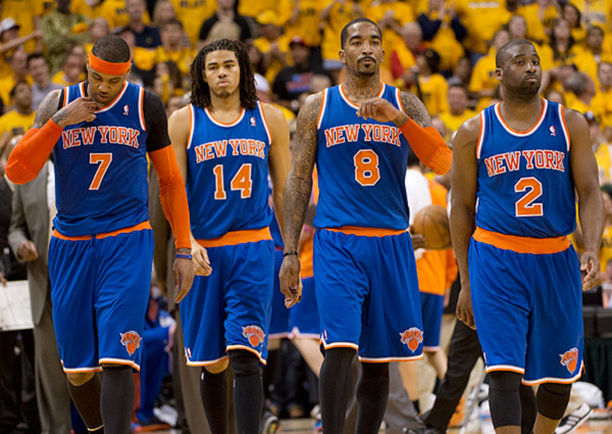 The New York Knicks fell to the Indiana Pacers in six games