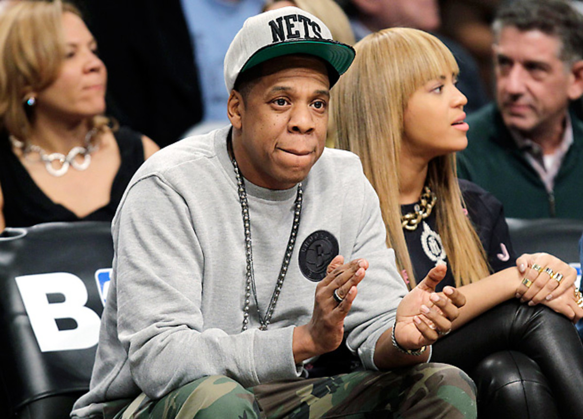 Jay-Z sold his minority stake in the Brooklyn Nets last April in order to become a player agent.